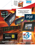 EZSeries Touch Panel Programming Software Manual
