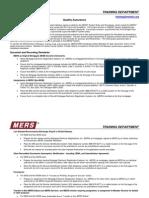 MERS Quality Assurance QRG-1