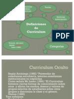 Mapa Conceptual Curriculum