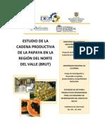 Estudio de la Cadena Productiva de la Papaya en la región del Norte del Valle del Cauca (BRUT)