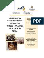 Estudio de la Agroindustria de Productos Típicos – Amasijos en el Valle de Tenza (Boyacá)