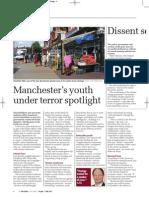 Manchester's youth under terror spotlight