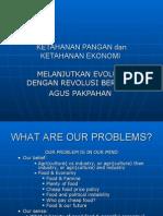 Ketahanan Pangan, Energi Dan Transformasi Ekonomi Perdesaan