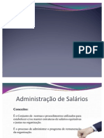 Administração de Salarios