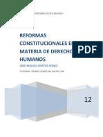 Reformas Constitucionales en Materia de Derechos Humanos Miguel