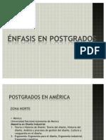 Presentacion POSTGRADOS DISEÑO INDUSTRIAL