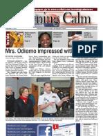 Morning Calm Weekly Newspaper - 3 February 2012