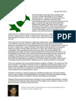 Tackling Pakistan's Provincial Integration