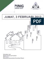 Scan Kliping Berita Perumahan Rakyat, 3 Februari 2012
