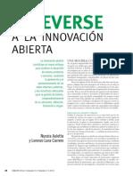 Atreverse a La Innovacion Abierta