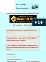 Back links gratis La Maquina Del Dinero Los Backlinks