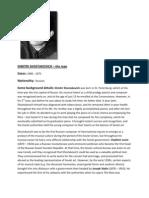 Ngfl Dimitri Shostakovich Background Information