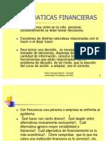 Curso Matemáticas Financieras ppt.