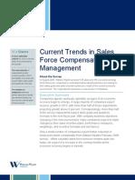 Sales Comp Trends