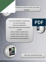 Tecnologas Emergentes en Multimedia