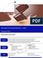 Market Research Report :Branded Chocolate Market in India 2012
