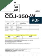 CDJ350W