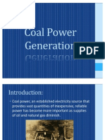 Coal Power Generation Report Final