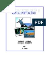 Manual Português II 2011 - 3ª parte