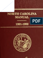 183. North Carolina Manual 1991-1992