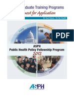 Public Health Policy RFA