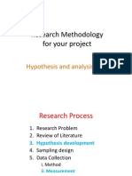 Hypothesis Testing & SPSS