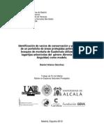 Identificación de vacíos de conservación y priorización de un portafolio de áreas protegidas potenciales en bosques de montaña de Guatemala utilizando a las lagartijas arborícolas del género Abronia (Sauria