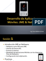 Desarrollo de Aplicaciones Móviles JME