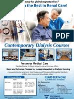 Contemporary Dialysis Course