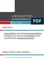Lecture 3 Codes of Ethics (1)