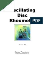 Oscillating Disc Rheometer Technical DataSheet