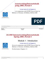 Internetworking-2005