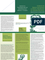 Diploma internacional en Diseño y planificación de campañas electorales 2008-2009