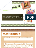 Mastectomy Wardclass