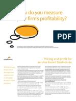 Pricing & Profits
