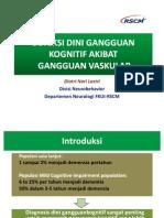 Deteksi Dini Gangguan Kognitif Akibat Gangguan Vaskular