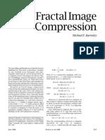 Fractal Image Compression Barnsley