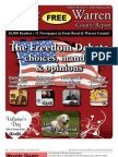 The Early February, 2012 edition of Warren County Report