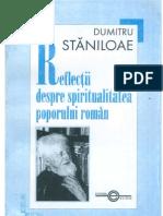 Dumitru Stanilaoe - Refletii Despre Spiritual It a Tea Poporului Roman