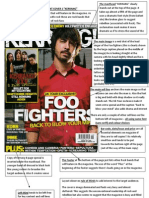 How to Analyse Front Covers-kerrang