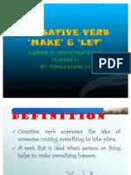 Causative Make & Let