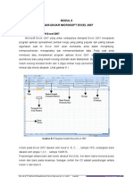 Materi Pengenalan Microsoft Excel 2007