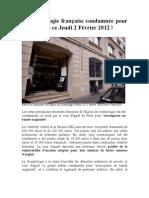 La scientologie française condamnée pour escroquerie
