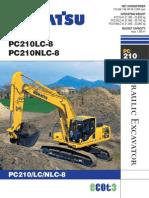 Excavator PC210 8