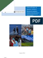 Forum Global_pt_BANCO MUNDIAL Direito Justiça e Desenvolvimento