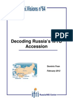 Decoding Russia's WTO Accession