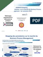 Mapping de prestataires - Logiciels d'amélioration et d'automatisation de processus - MARKESS International
