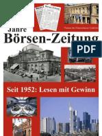 60 Jahre Börsen-Zeitung  -  Partner des Finanzplatzes Frankfurt