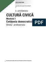 Secundar Civica I Cadru Didactic