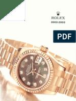 Listino Rolex